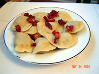 Our Pierogi for lunch or dinner!